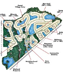 Waterchase Map