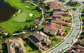 golf community homes and cdd